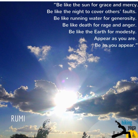"""""Be like the sun for grace and mercy."