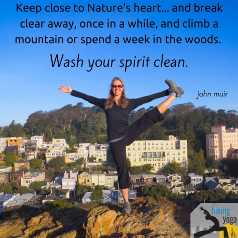 Keep close to Nature's heart... and